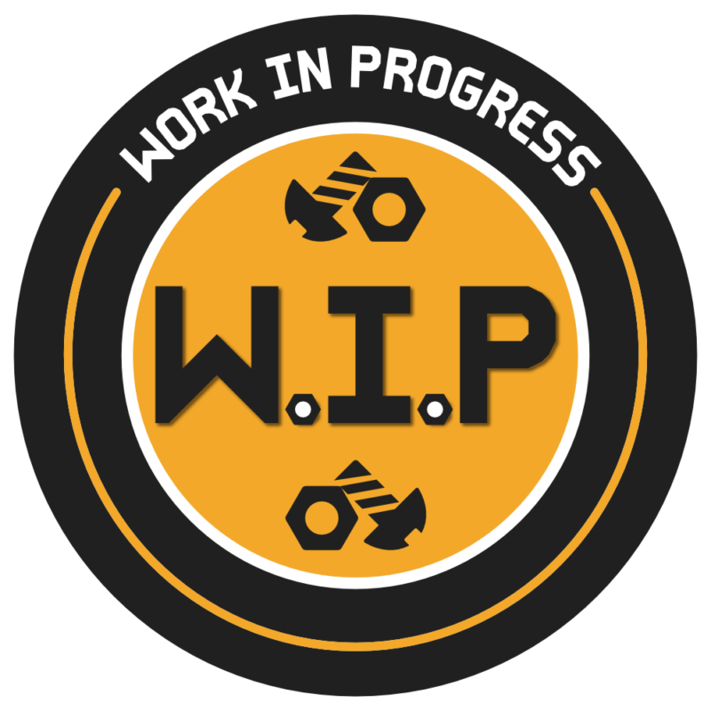 Icon signifying that a project is still a work in progress.
